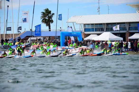 Coupe de France de Stand Up Paddle race